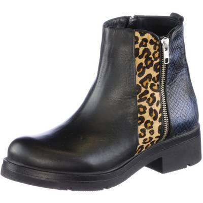 Inuovo Bootie Damen schwarz/leopard