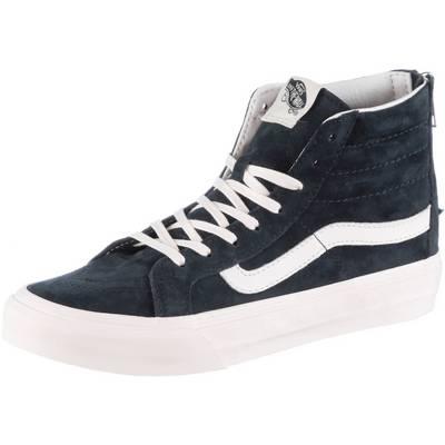 Vans SK8-Hi Slim Sneaker Damen blue graphite