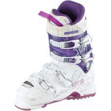 LANGE XT 80 W Skischuhe Damen weiß/lila