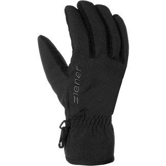Ziener Import Fingerhandschuhe schwarz