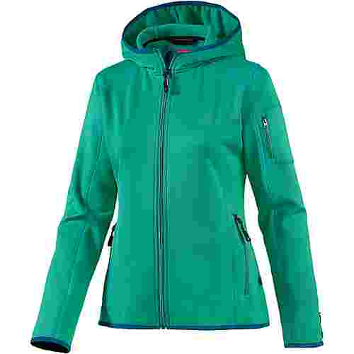 OCK Stretch Fleece Fleecejacke Damen grün
