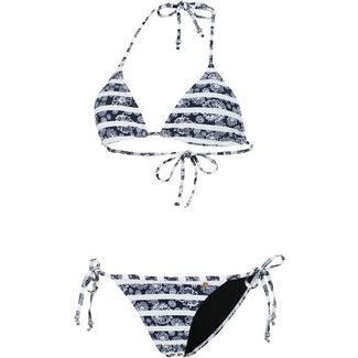 Maui Wowie Coloured Tribe Bikini Set Damen schwarz/weiß