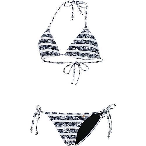 Maui Wowie Coloured Tribe Triangelbikini Damen schwarz/weiß