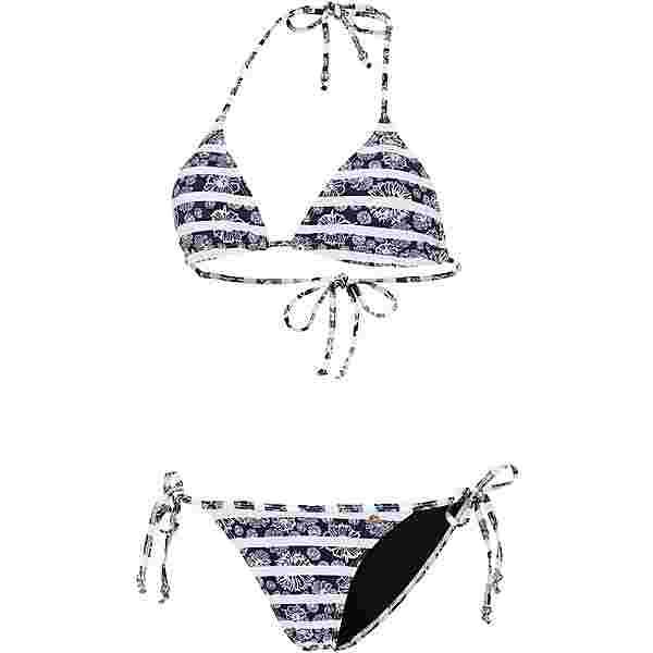Maui Wowie Coloured Tribe Bikini Set Damen schwarz-weiß