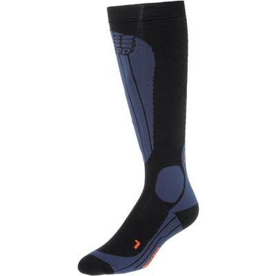 CEP Skisocken Damen schwarz/blau