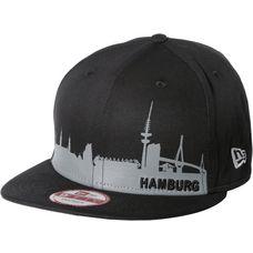 New Era Hamburg Skyline Cap schwarz/grau