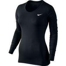 Nike Pro Dry Fit Funktionsshirt Damen schwarz