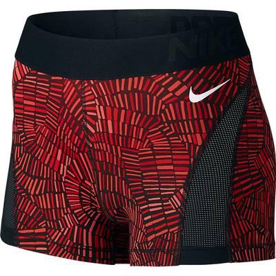 Nike Pro Hypercool Tights Damen dunkelrot/rot
