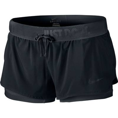 Nike Full Flex 2 in1 2.0 Funktionsshorts Damen schwarz
