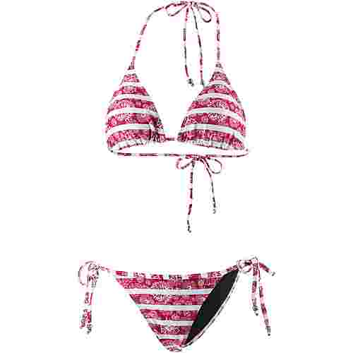 Maui Wowie Coloured Tribe Bikini Set Damen kirschrot