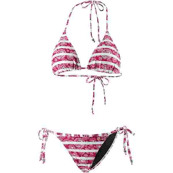 Maui Wowie Coloured Tribe Bikini Set Damen kirschrot