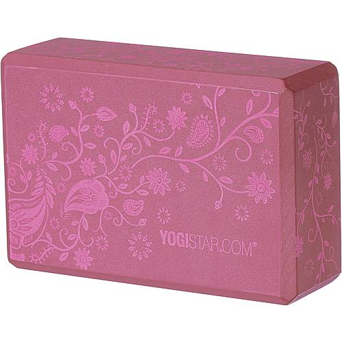 YOGISTAR.COM Yoga Block bordeaux