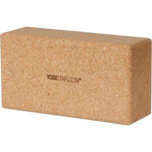 YOGISTAR.COM Yoga Block kork