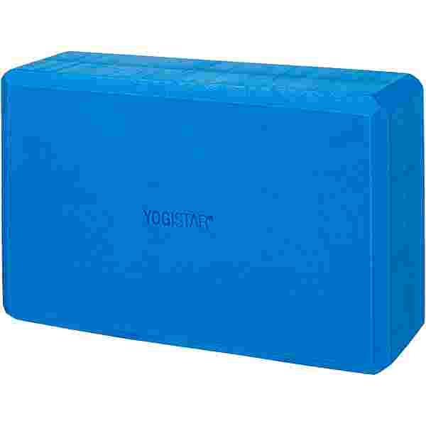 YOGISTAR.COM Big Yoga Block blau