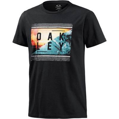 Oakley Yewwtee Printshirt Herren schwarz