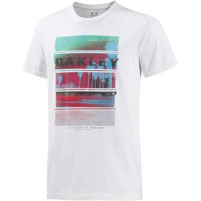 Oakley Pacific T-Shirt Herren weiß