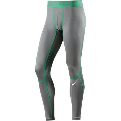 Nike HYPERCOOL Tights Herren grau/grün