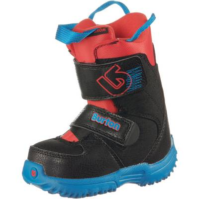 Burton Grom Mini Snowboard Boots Kinder Webslinger Blue
