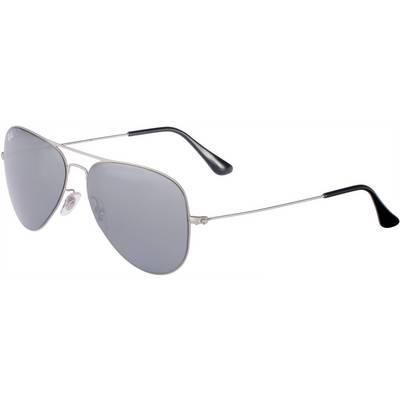 RAY-BAN Sonnenbrille silberfarben/grau