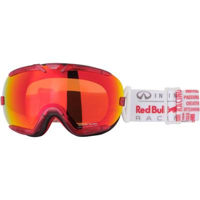 Red Bull Skibrille weiss/rot