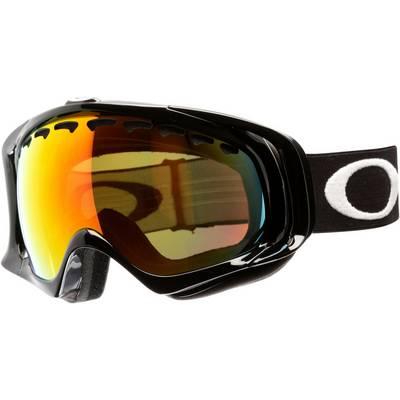 Oakley Crowbar Skibrille JET BLACK/FIRE IRIDIUM