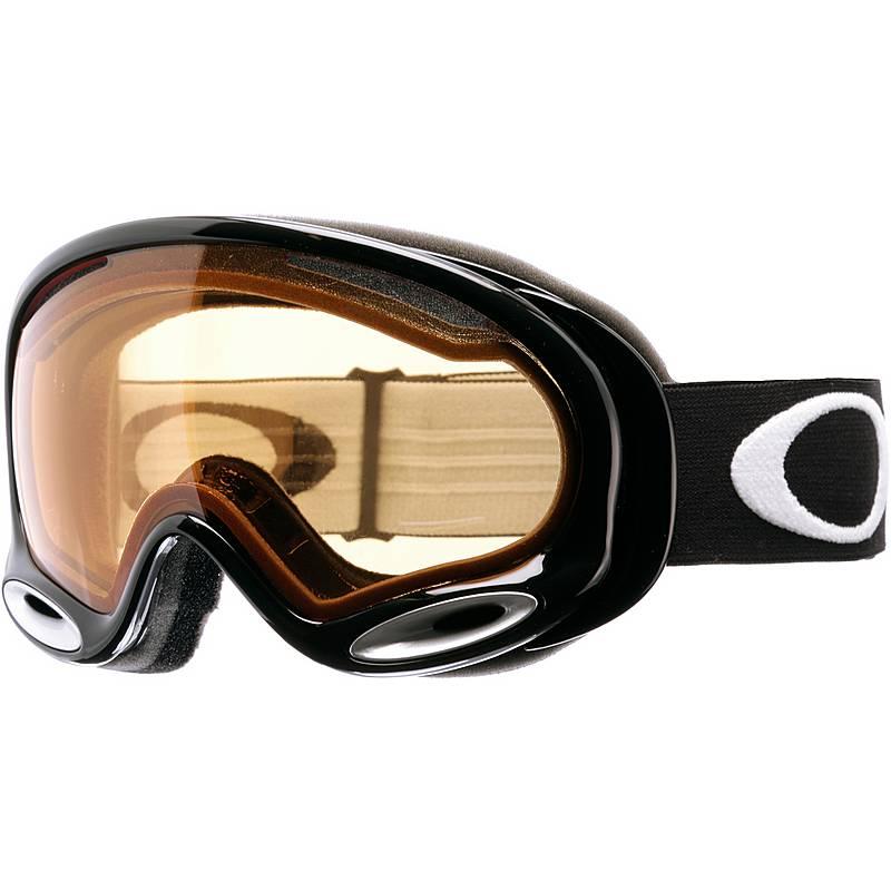 Oakley A-FRAME 2.0 Skibrille JET BLACK/PERSIMMON im Online Shop von ...