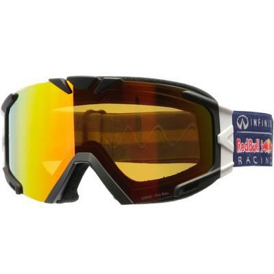 Red Bull Skibrille blau/weiss