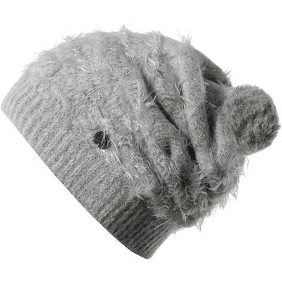 BUFF Eskimo Hat Bommelmütze grau