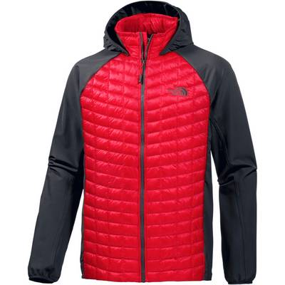 The North Face Thermoball Kunstfaserjacke Herren rot/anthrazit
