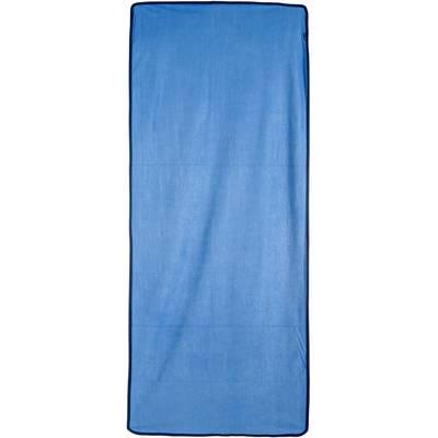 YOGISTAR.COM Mikrofaserhandtuch blau