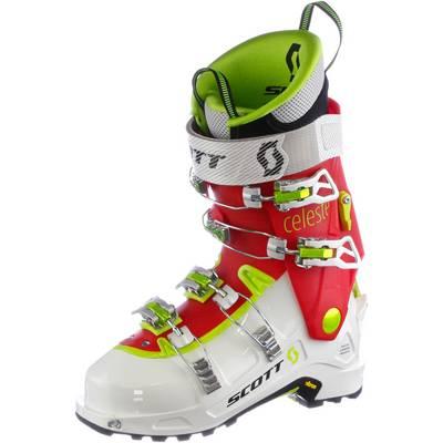 SCOTT Celeste Skischuhe Damen weiß/rot