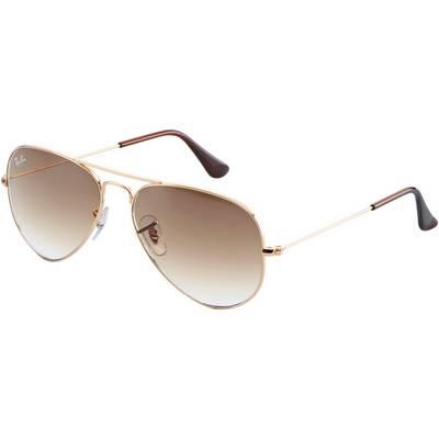 RAY-BAN Aviator Sonnenbrille gold