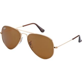 RAY-BAN Aviator 0RB3025 Sonnenbrille gold