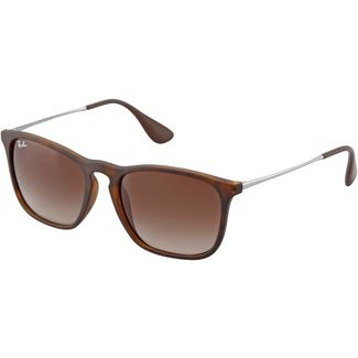 RAY-BAN Chris 0RB4187 Sonnenbrille rubber havana