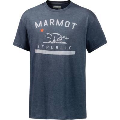 Marmot Republic Funktionsshirt Herren navy