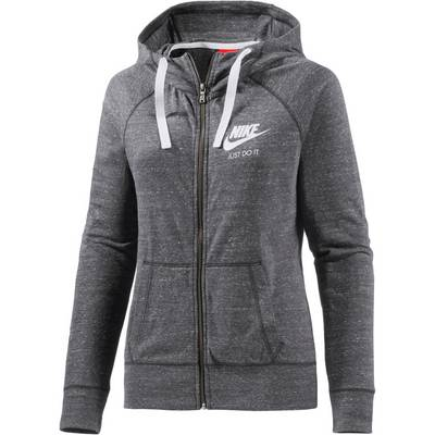 Nike Gym Vintage Sweatjacke Damen anthrazit