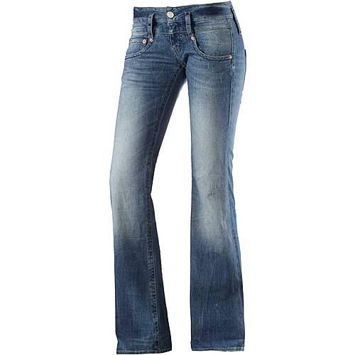 herrlicher bootcut jeans damen light denim im online shop. Black Bedroom Furniture Sets. Home Design Ideas