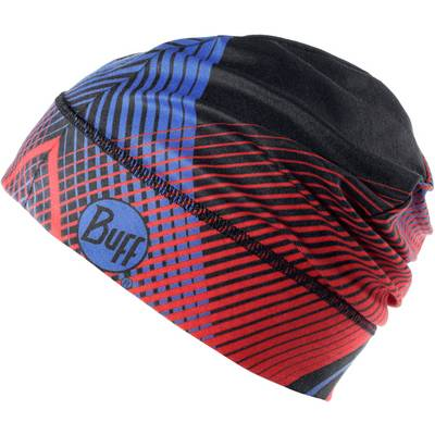 BUFF Microfiber 1 Layer Hat Beanie retro lines red