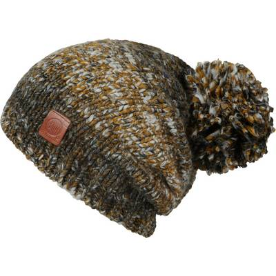 BUFF Dryn Hat Bommelmütze grün