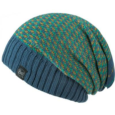 BUFF Knitted Neckwarmer Hat Loop Zile Blue