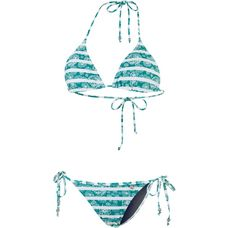 Maui Wowie Coloured Tribe Triangelbikini Damen jadegrün