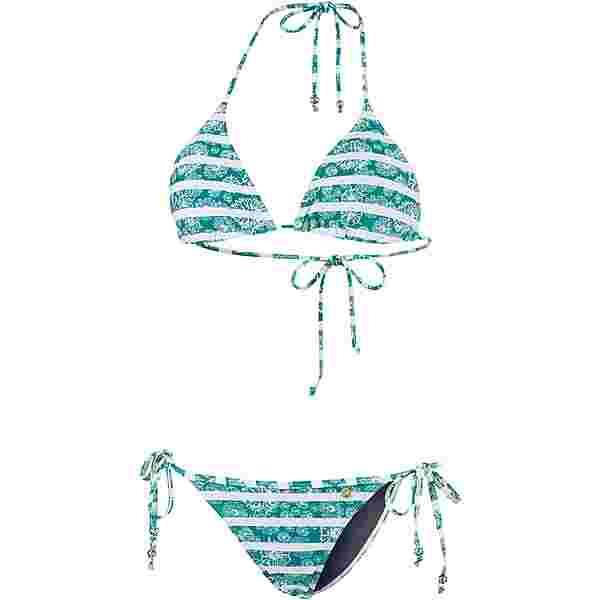 Maui Wowie Coloured Tribe Bikini Set Damen jadegrün