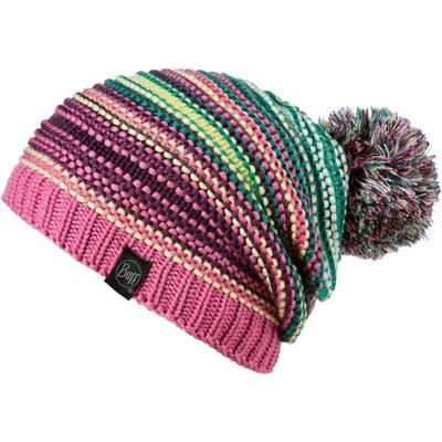 BUFF Knitted & Polar Hat Bommelmütze Neper Magenta