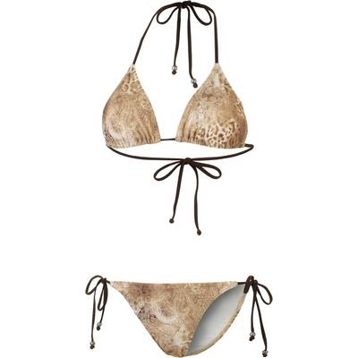 Maui Wowie Ethno Vibes Triangelbikini Damen taupe