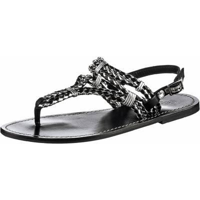 Pepe Jeans Zehensandalen Damen schwarz