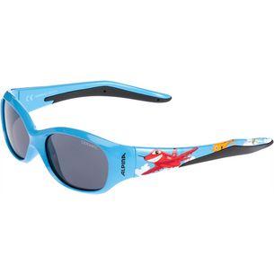 ALPINA FLEXXY KIDS Sonnenbrille Kinder cyan plane