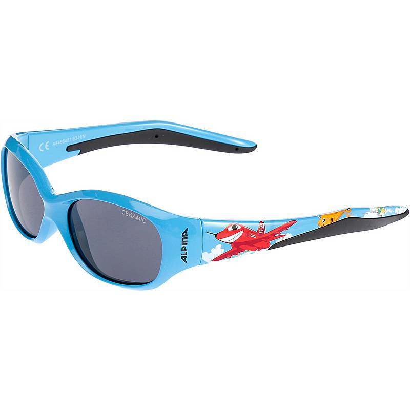 Alpina Sports Flexxy Kids - cyan rZVWKX