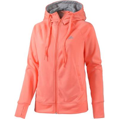 adidas sweatjacke damen apricot im online shop von. Black Bedroom Furniture Sets. Home Design Ideas