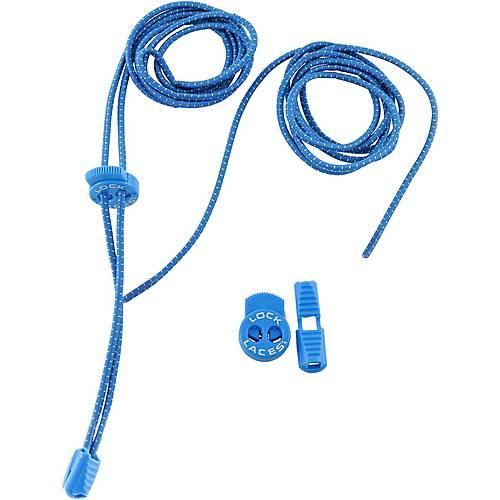 NATHAN Lock Laces Schuhbänder blau