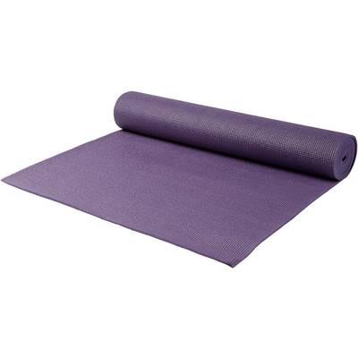 YOGISTAR.COM Yogamatte aubergine
